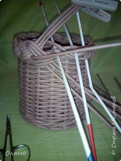 Поделка изделие Плетение Плету косу Бумага фото 7