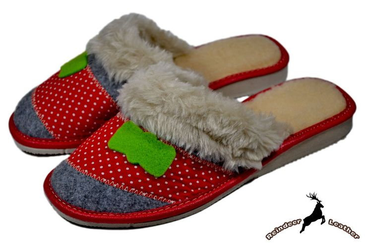 Ezra Red Winter Slipper