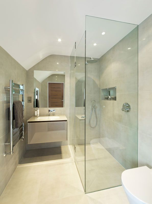 Corner frameless glass shower screen. http://www.infinityglass.com.au