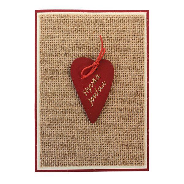 Sinelli - Simppeli joulukortti