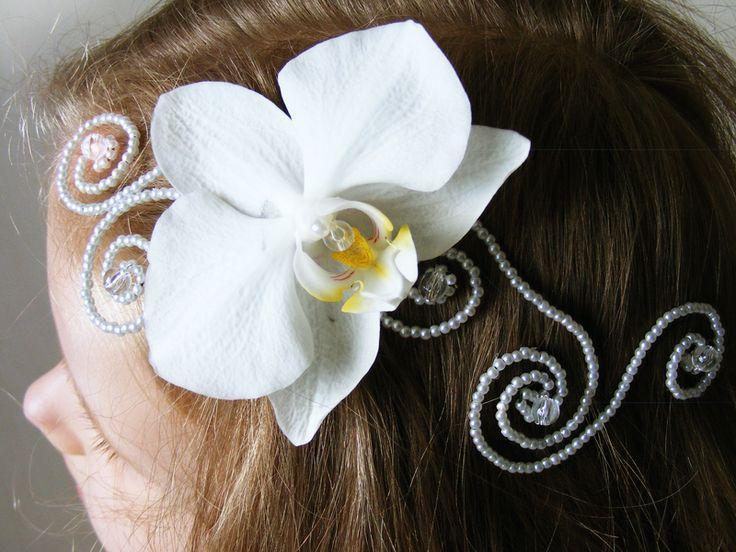 phalaenopsis hair decoration