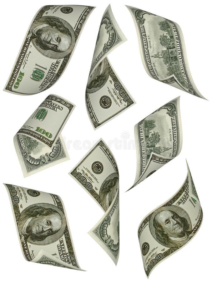 Money Flying American 100 Dollar Bills On White Background Spon American Money Flying White Backgroun Dollar Tattoo Money Tattoo Money Design Art