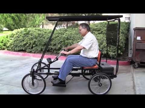 Solar Powered Quadricycle! - YouTube