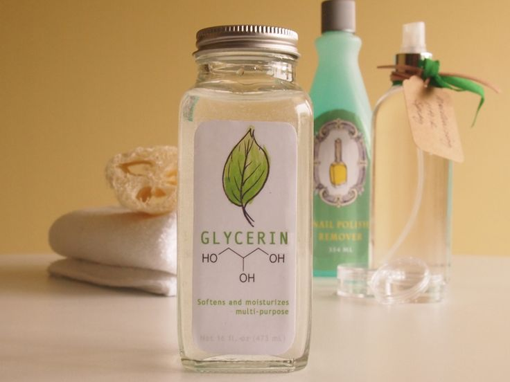 Glycerin is a byproduct collected from soap and is colorless and odorless sweet tasting liquor. The use of glycerin for skin beauty is not new. Glycerin is considered as a natural humectant means it can directly absorb moisture from the air and can make your skin hydrated.