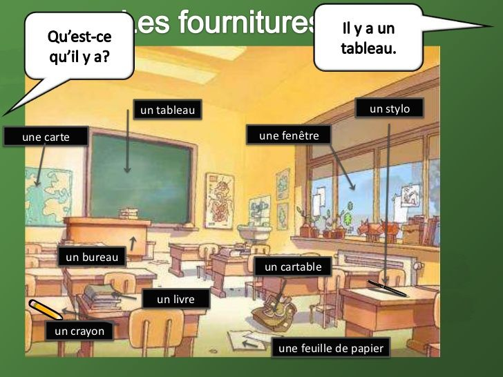 Resultado de imagen de salle de classe fle