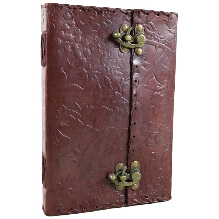 Floral and Tree of Life Leather Journal