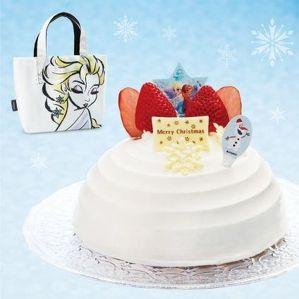ファミマ、クリスマスケーキ予約スタート--アナ雪、ホテルメイド、ペット専用など