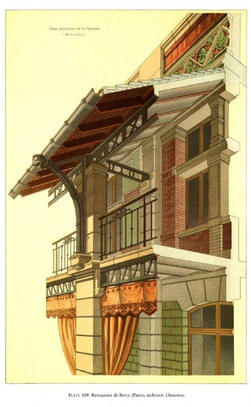1   Викторианская кирпичная и терракотовая архитектура - Pierre Chabat   ARTeveryday.org