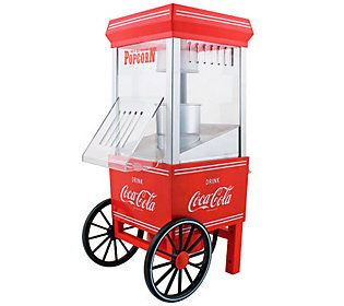 Nostalgia Electrics Coca-Cola Series Hot Air Popcorn Maker