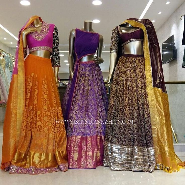 Gorgeous designer lehenga by Neeta Lulla. Amidst her stylish and chic lehenga designs, you will find you dream one for sure!