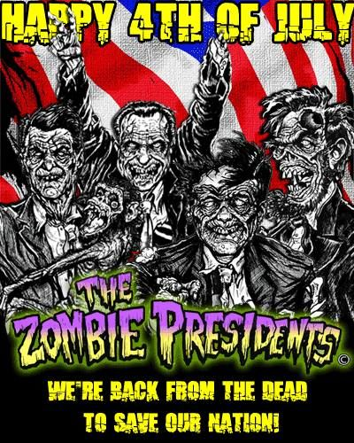 4th of july zombies