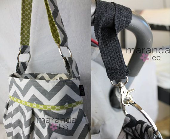 READY to SHIP Stella Chevron Diaper Bag Medium by marandalee