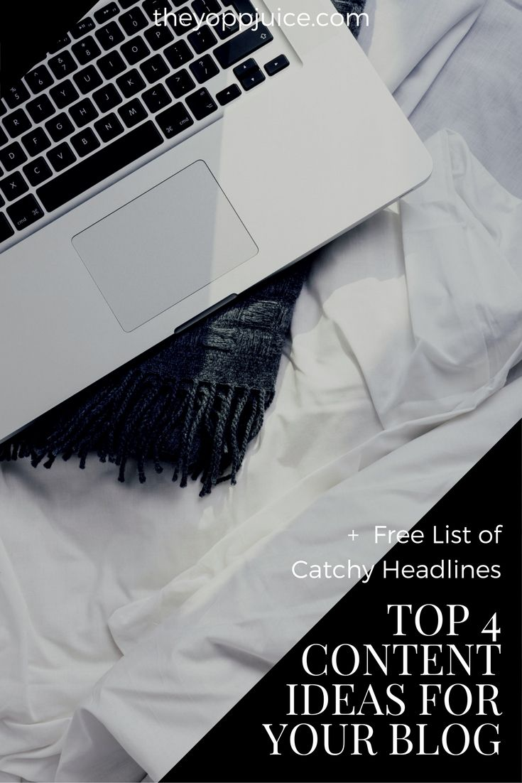 Best content ideas for your blog!