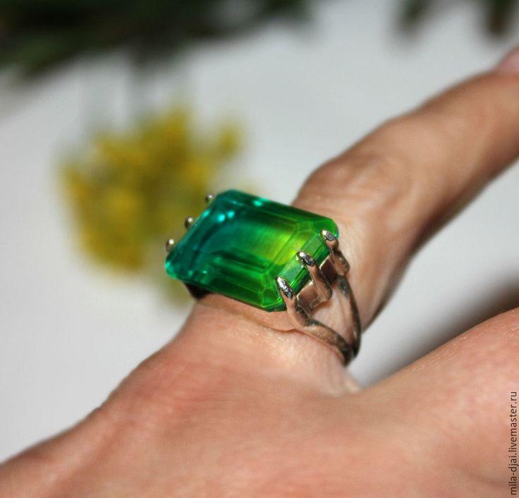 """Купить Кольцо """"Фиджи """"СКИДКА-10% - натуральные камни, серебро 925 пробы, кольцо с камнями"""
