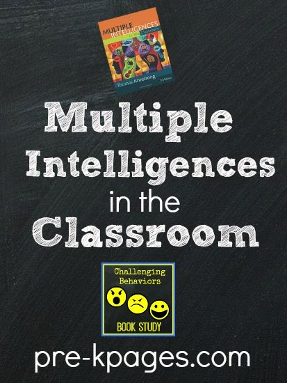 Multiple Intelligences in the Classroom: Challenging Behaviors Summer book Study