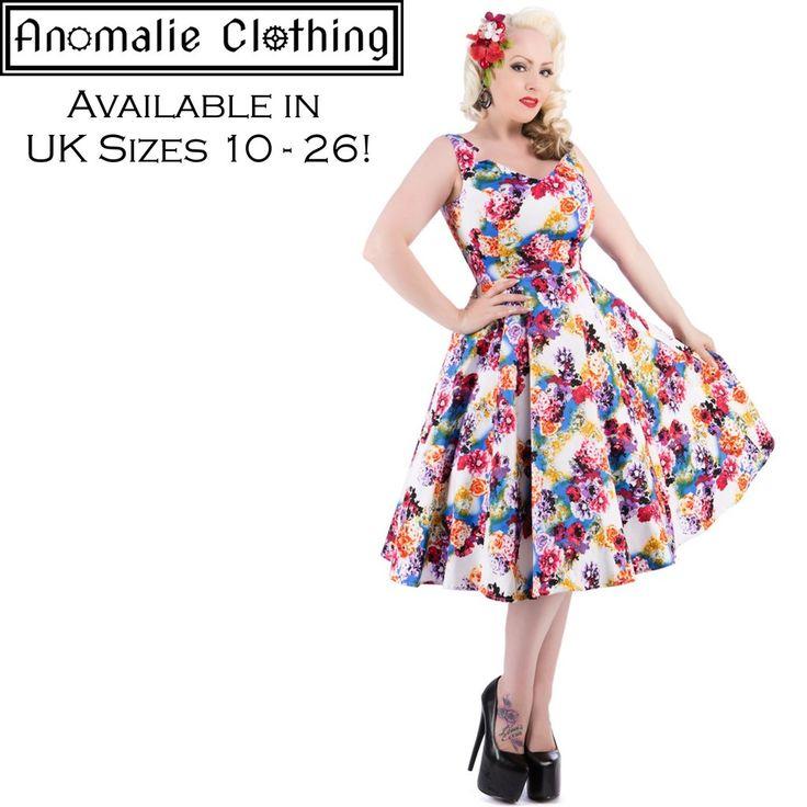 Georgina Floral Swing Dress
