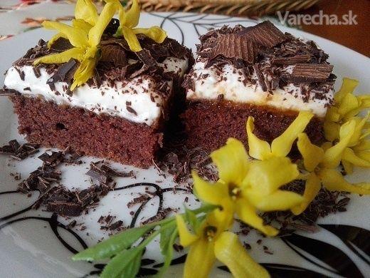 Bláznivý koláč ku káve (fotorecept) - Recept