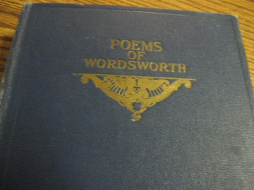 ARNOLDS-ESSAY-ON-WORDSWORTH-Hardcover-Book-William-Poetry-Poet-Antique ...