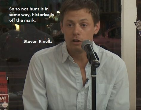 Vegan Vs Meat Eater Steven Rinella. So to not hunt is in some way, historically off the mark.