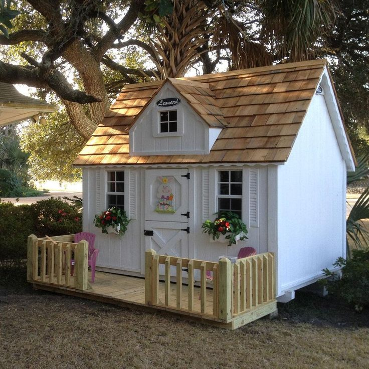Best Wooden Playhouse Kits Ideas On Pinterest Hobbit