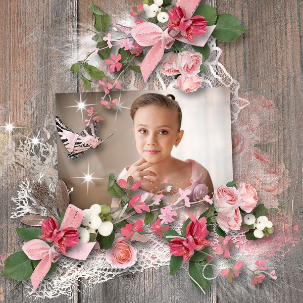 JIRSEV scrap*Floral Light* - collection with quick pages & FWP by DitaBDesigns  https://pickleberrypop.com/shop/manufacturers.php… save 55% RAK for a friend Nika
