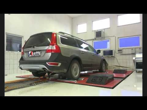 Volvo XC70 2.4D D4 163LE AET CHIPtuning Referencia Videó