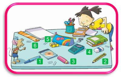 FUN ENGLISH POINT: Classroom Objects
