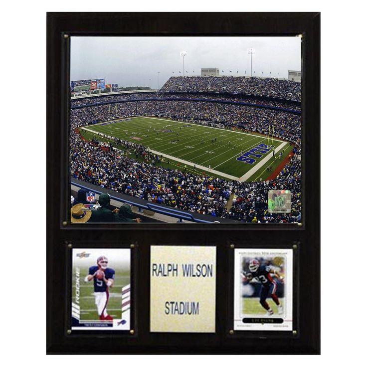 NFL 12 x 15 in. Ralph Wilson Stadium Plaque - 1215RWST