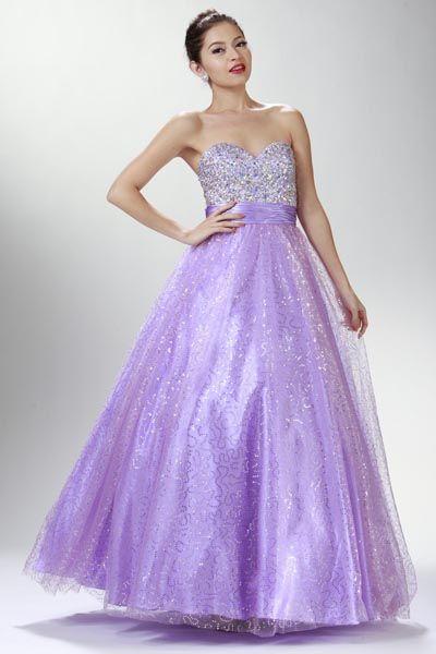 #quinceaneradresss #lilacdress #lilacquinceanera @ www.dressdress.net