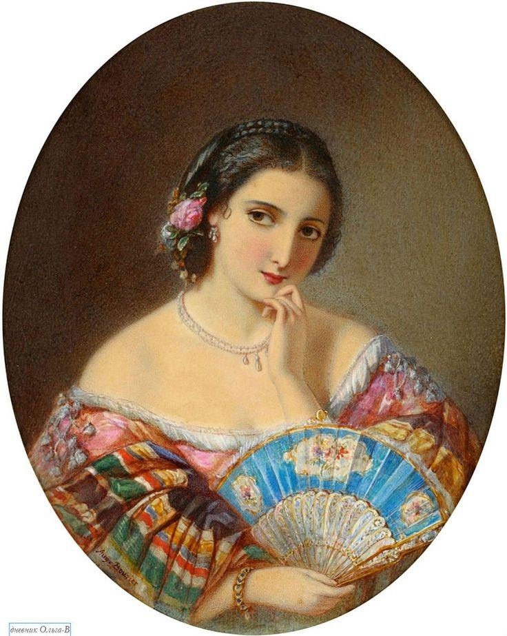 Портрет восточной женщины ( Portrait of an orient