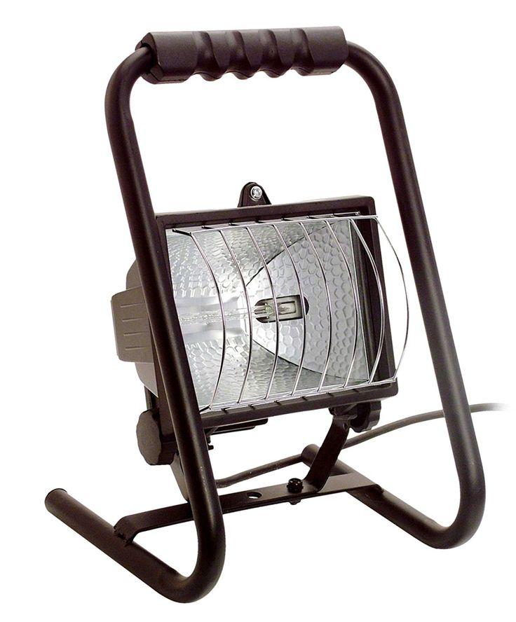 as - Schwabe 46560 Halogenstrahler tragbar, Handwerker-Mobillicht 400W, mit Kabel: Amazon.de: Baumarkt