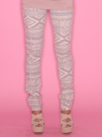 Pink Aztec Jeans | Impressions love these!
