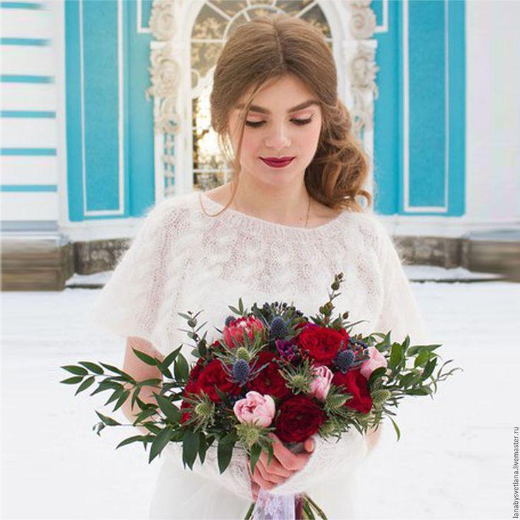 Купить Комплект аксессуаров для свадебной съемки - белый, зимняя свадьба, зимняя невеста, wedding