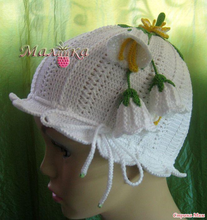 Шляпа для девочки вязание схемы