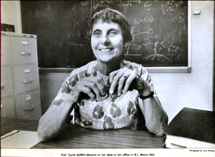 L'école des prix Nobel est orpheline de Cécile DeWitt-Morette