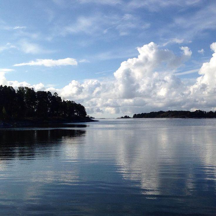Helsinki seaside summertime