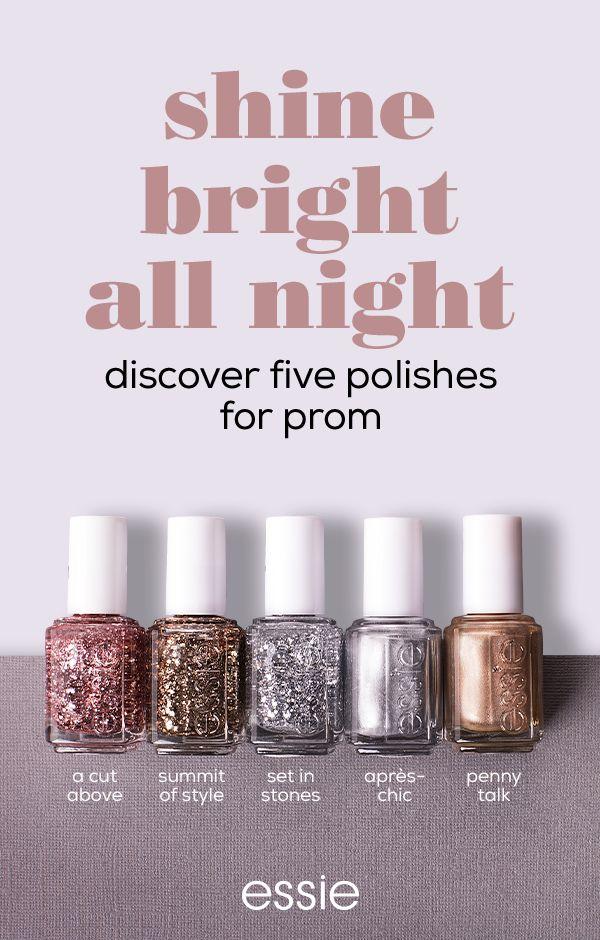 127 best glitter up images on Pinterest | Nail polish, Essie nail ...