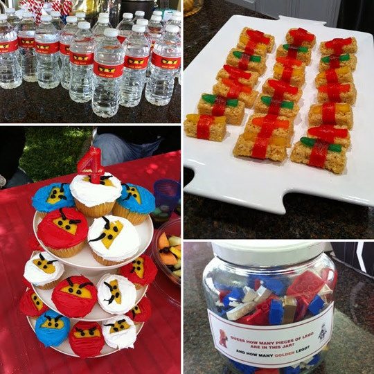 Cute ninjago party ideas @Aimee Whorms