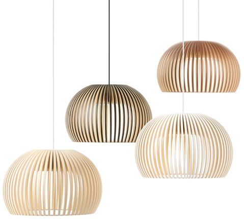 Secto lighting over the dining table