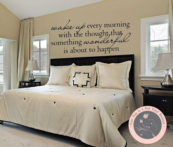 Wall Decals For the Home - Wake Up Quote