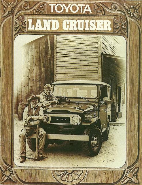 Land Cruiser, oh sweet.