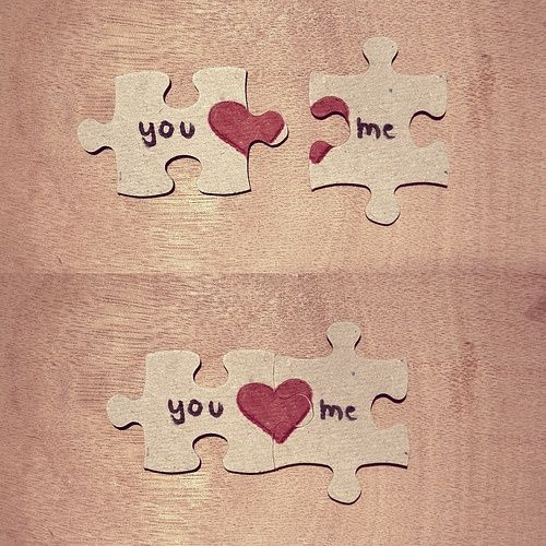 This is a really cute love puzzle if you're looking for a good present for valentines day, you can put this in a little gift box with other customized things