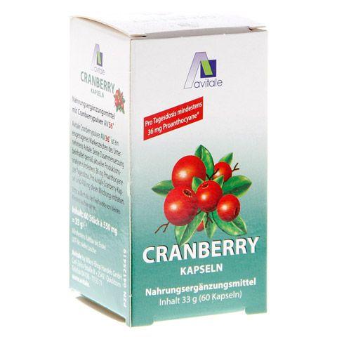 CRANBERRY KAPSELN 400 mg 60 Stück