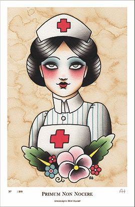 gloomy nurse