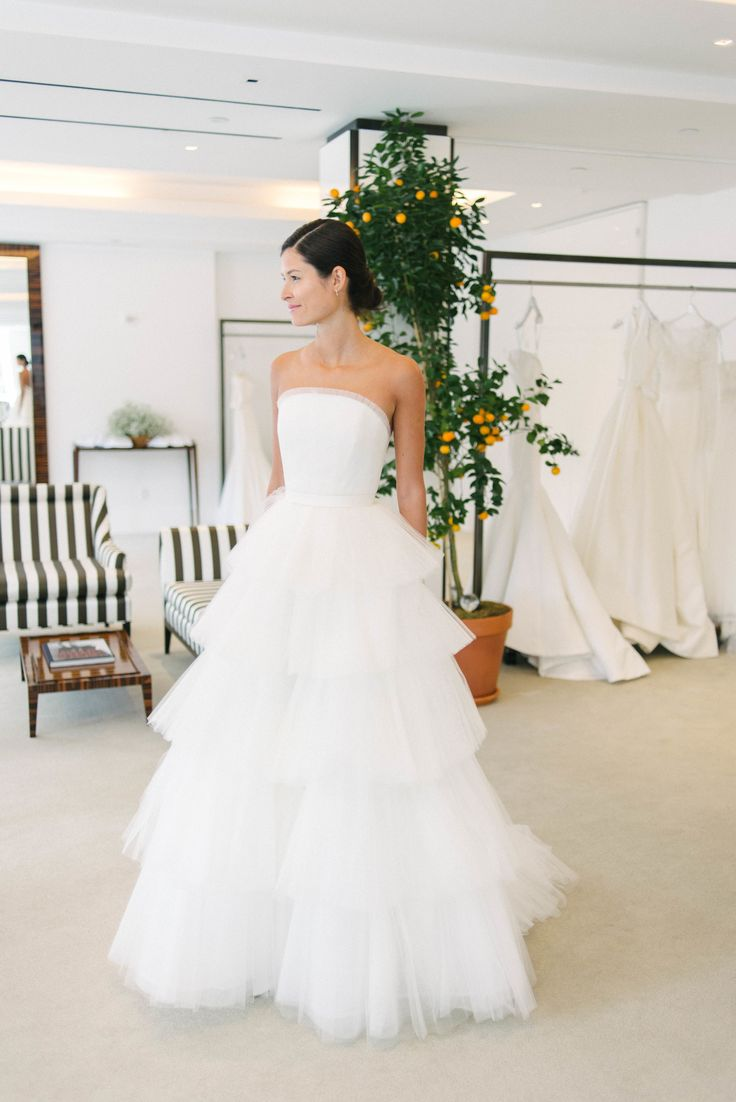 Carolina Herrera Spring 2020 Collection Preview Little White Dress Bridal Shop Denver Colorado S Best Designer Wedding Dresses And Accessories Backless Wedding White Bridal Dresses Beach Wedding Dress