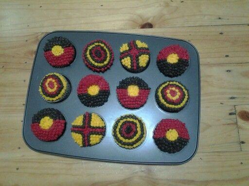 Indigenous cupcakes