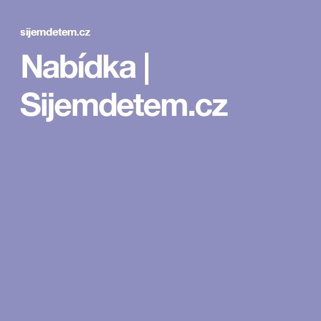 Nabídka | Sijemdetem.cz