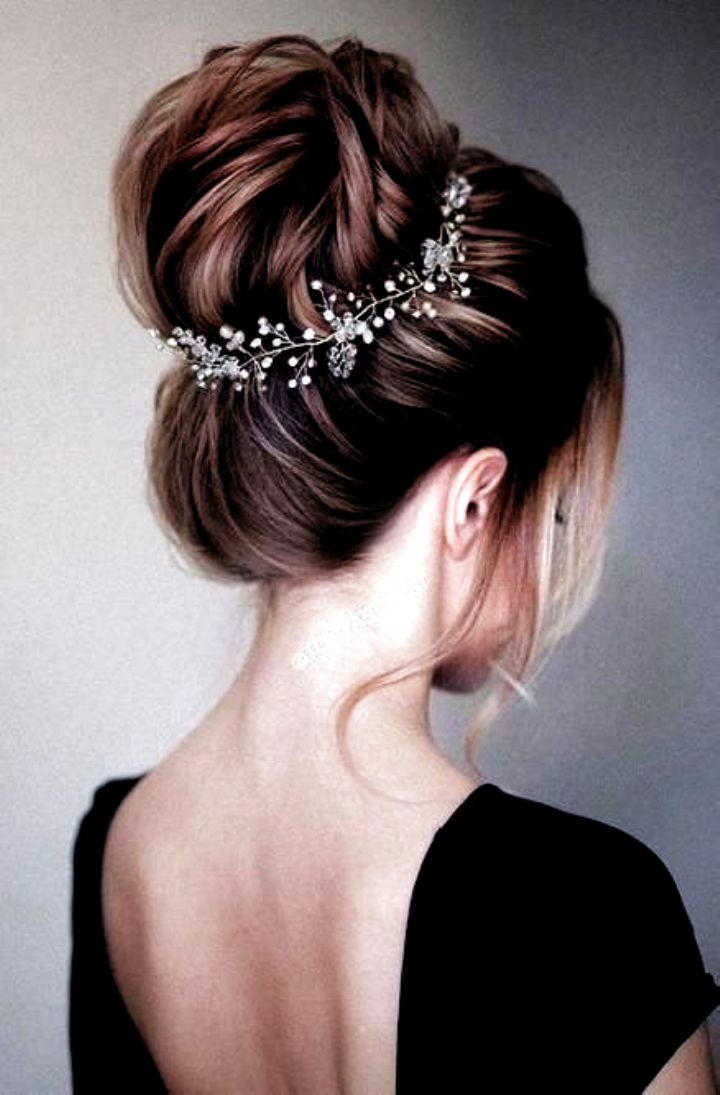 Pin on hairstyles for indian wedding   Wedding hair up, Wedding ...