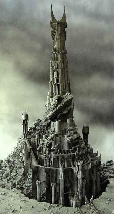 Making_Barad-Dur_1 - Sauron's Tower