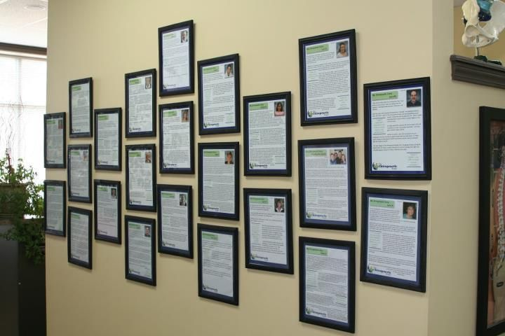 testimonial wall.jpg provided by The Chiropractic People Geneva 60134
